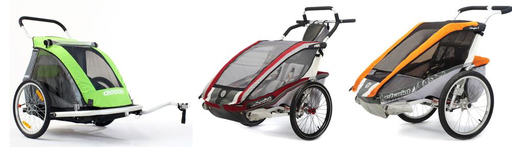 Dětský vozík za kolo